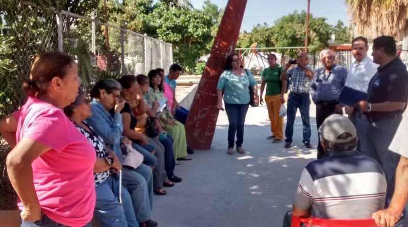 Respuesta positiva de la sociedad en participar en la recuperación de espacios públicos; SEDESO