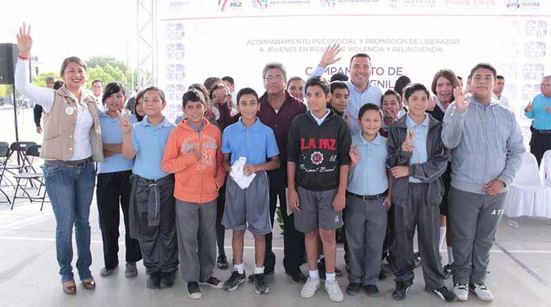 Inaugura SEDESO campamento de líderes juveniles 2016.