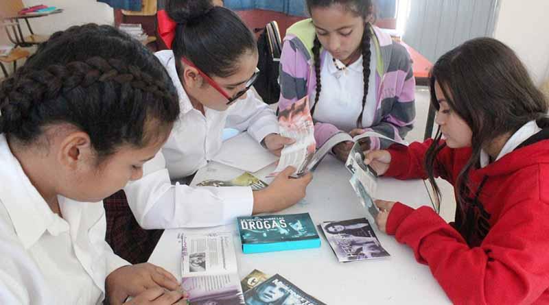 Se orienta a estudiantes de secundaria para prevenir el consumo de drogas: SEP
