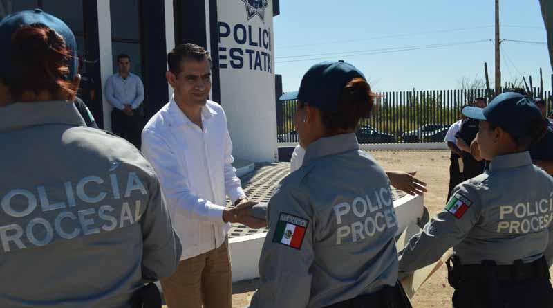 Supervisa titular de la SSP Cereso, unidades de medidas cautelares y Policía procesal en el norte del estado