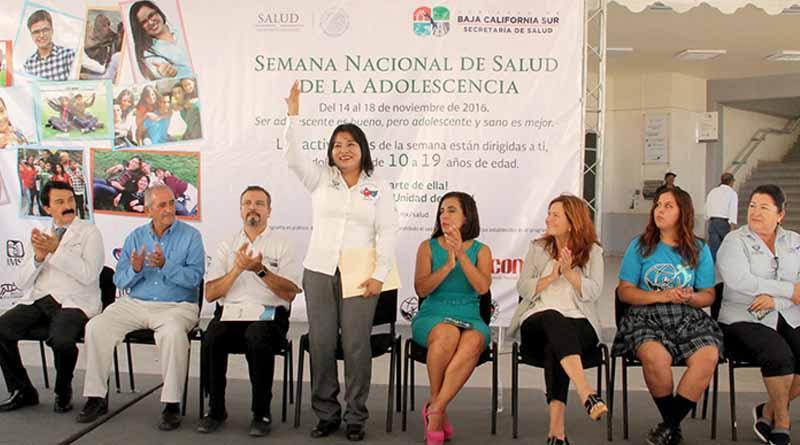 Inauguran la Semana Nacional de Salud de la Adolescencia