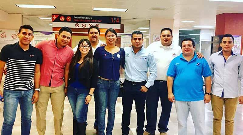 BCS presente en la 8va conferencia mundial de voluntariado juvenil en el estado de Puebla