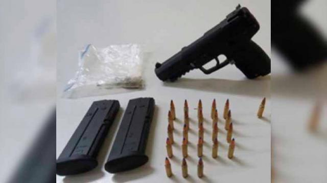 Dos detenidos en La Paz con arma, drogas y cartuchos: PGR