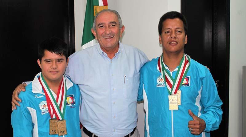 Atletas con discapacidad triunfan en Juegos Nacionales