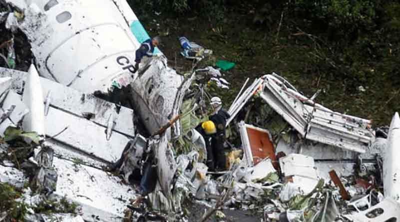 Revelan diálogo entre piloto de avión accidentado y torre de control