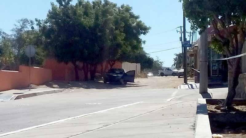 Asesinan a balazos a una persona en San José del Cabo