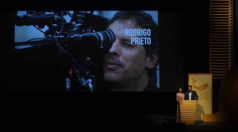 Festival Internacional de Cine de los Cabos reconoce a Rodrigo Prieto
