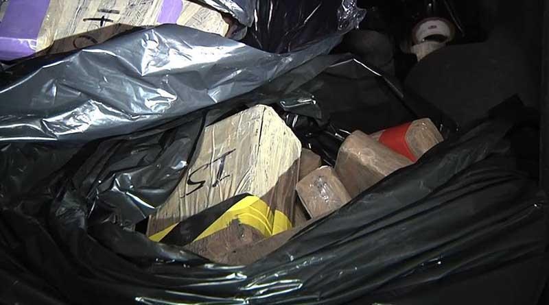 Reportan detección de tráiler cargado de droga en Pichilingue