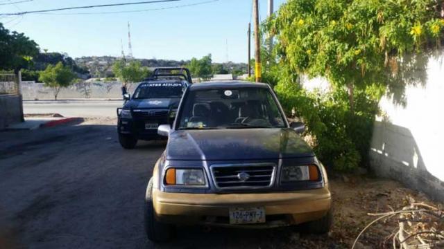 Lo detiene Mando Mixto por portar arma de fuego, droga y chaleco antibalas en La Paz