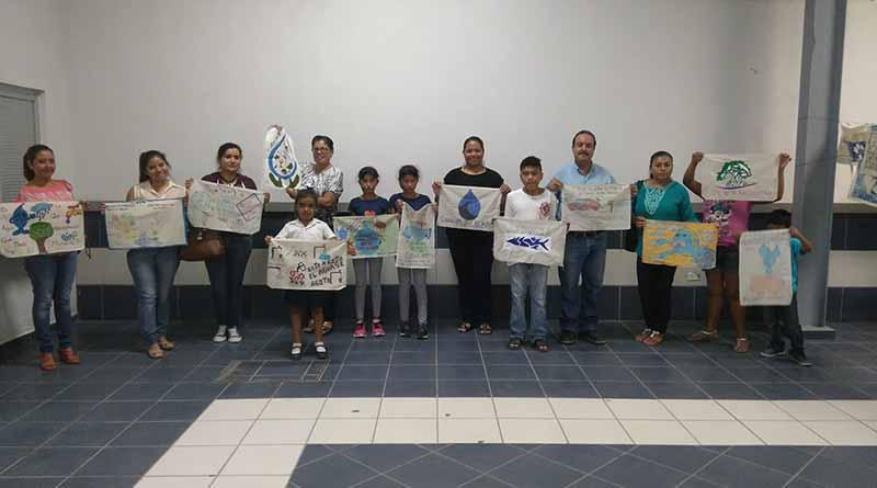 Realizan 1er. Concurso Estatal de Dibujo sobre el Cuidado del Agua en Puerto San Carlos