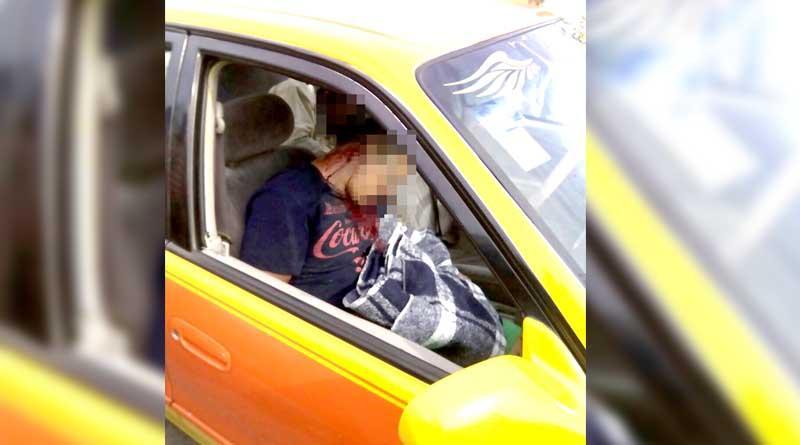 Asesinan a dos a balazos en taxi en La Paz, al chofer lo dejaron escapar
