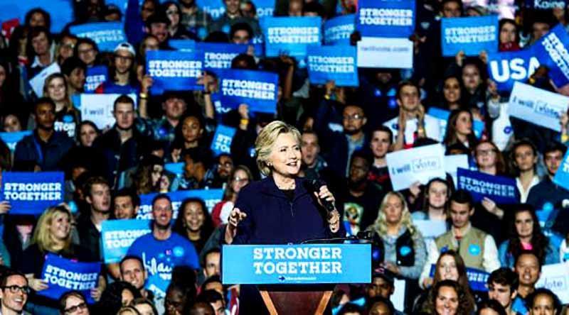 Estimación da ventaja a Clinton en votos tempranos en siete estados clave