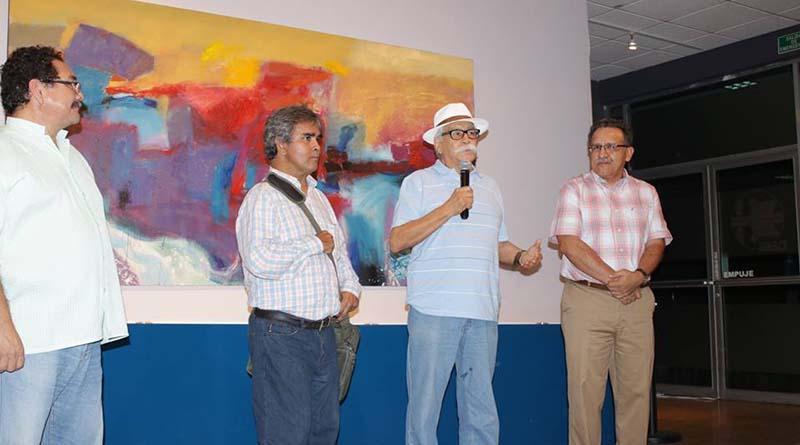 """Al final el sol"", nueva obra pictórica de Aníbal Angulo, en la UABCS"