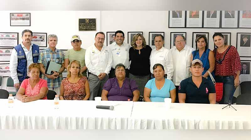 Trabajamos para solucionar problema de contaminación por derrame de aguas negras en el 1er. distrito : Dip. Norma Peña