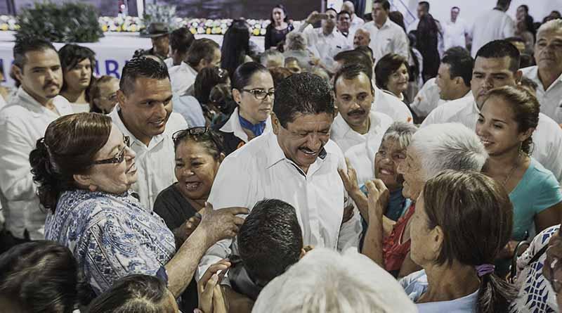 Reafirmo la responsabilidad de seguir trabajando en la construcción de un municipio incluyente y con  bienestar para todos, Armando Martínez Vega