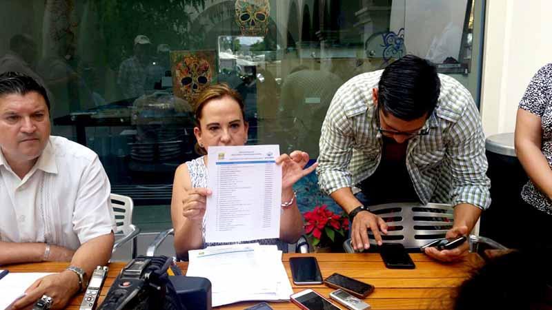 Ahora regidora Díaz acusa a regidor Gómez de conflicto de intereses por adjudicación de obras