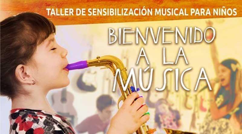A través de la música, buscan sensibilizar a los niños