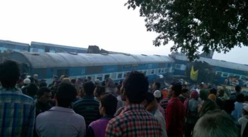 Sube a cien cifra de muertos por accidente ferroviario en India