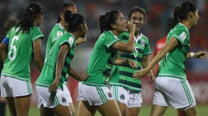"""""""Tri"""" femenil Sub 20 vence 3-2 a Venezuela y avanza a cuartos de final en Mundial"""