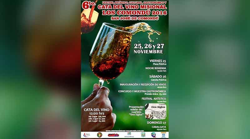 Todo listo para el ya tradicional Festival del Vino Misional Los Comondú 2016: FPC