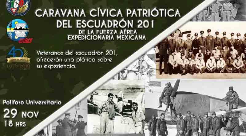 Sobrevivientes del escuadrón mexicano que participó en la Segunda Guerra Mundial ofrecerán plática en la UABCS La Paz