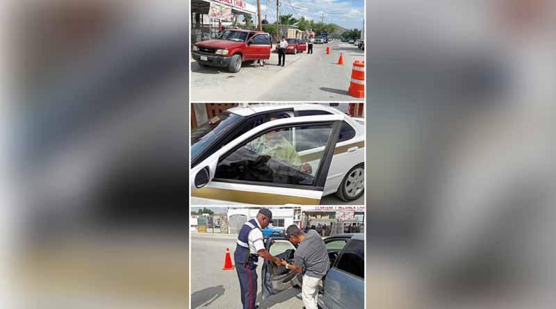 Campaña anti polarizado implementada por seguridad pública en todo el municipio