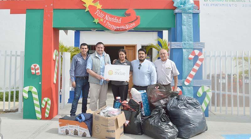 Recibe DIF Los Cabos donación de juguetes, calzado y ropa del Hotel Hyatt Place