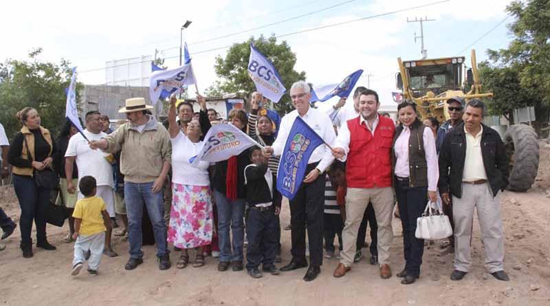 Se inician trabajos en vialidades de La Paz: SEPUIT