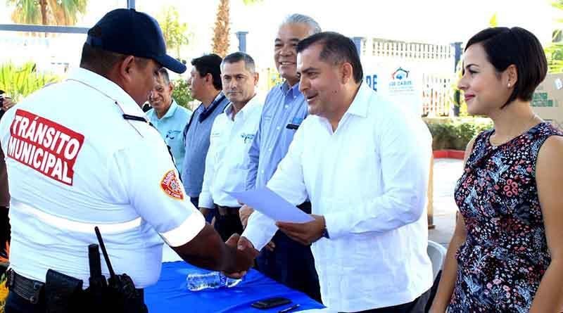 Reconoce Gobierno Municipal la labor de los Policías en su día