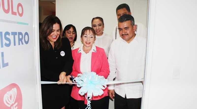 Se inauguró módulo del Registro Civil dentro de la Procuraduría de Protección de Niñas, Niños y Adolescentes DIF BCS