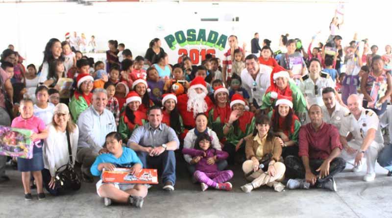 Realizan DIF Los Cabos y Tropical Tours posada navideña