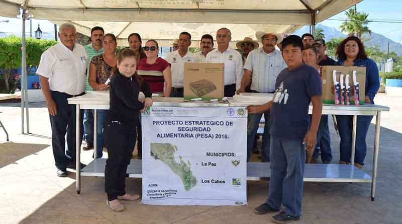 Se inició con la entrega de apoyos en la zona norte del municipio