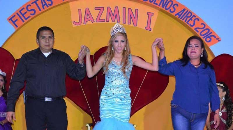 """""""Jazmín I"""" Reina de las Fiestas Tradicionales Buenos Aires 2016"""