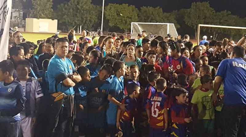 Instituto Municipal del Deporte entrega medallas y trofeos a ganadores de la Liga Edues