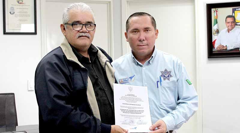 Nombran a subdirector jurídico de la policía como encargado de la Dirección de Seguridad Pública en La Paz