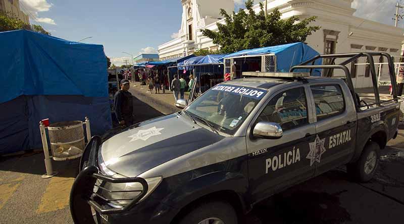 Mando mixto policial a cargo de la seguridad en tianguis madero 2016