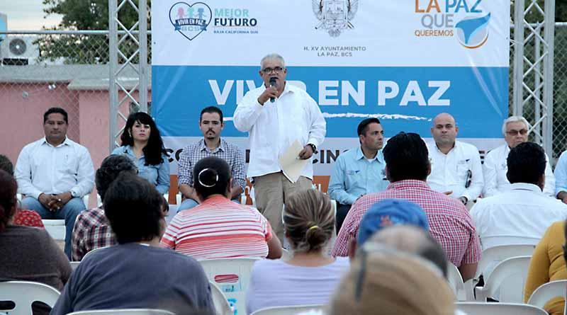 Convoca Ayuntamiento de La Paz a conformar Comité de Vecinos Vigilantes