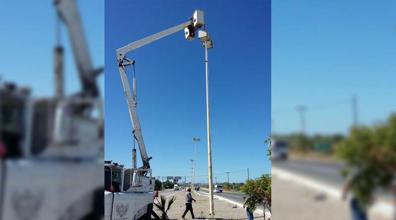 Servicios Públicos Municipales continúa con los trabajos de alumbrado y limpieza