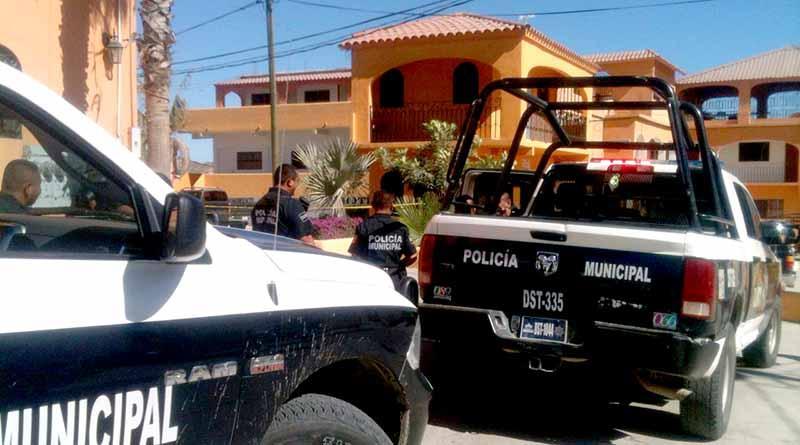 Ataque a balazos frente a Seguridad Pública en San José del Cabo