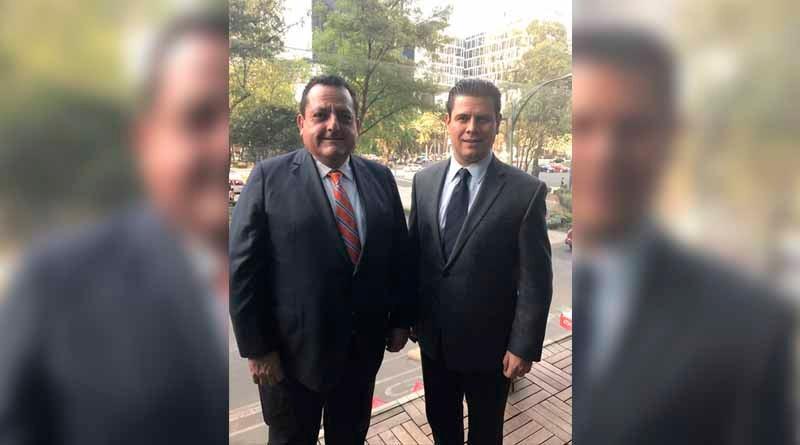 Se reúne Gobernador Carlos Mendoza con nuevo director de Fonatur