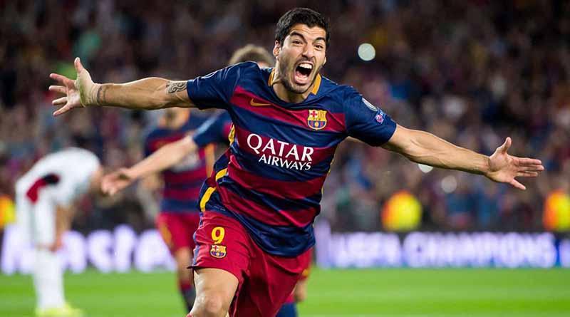 Delantero Luis Suárez es nombrado Máximo Goleador Mundial del 2016