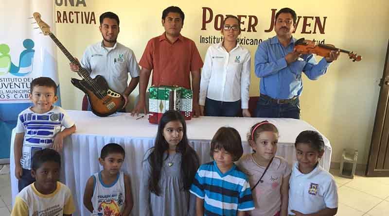 Clase de Música de Casa de Cultura CSL recibe por primera vez en muchos años, donación de instrumentos profesionales