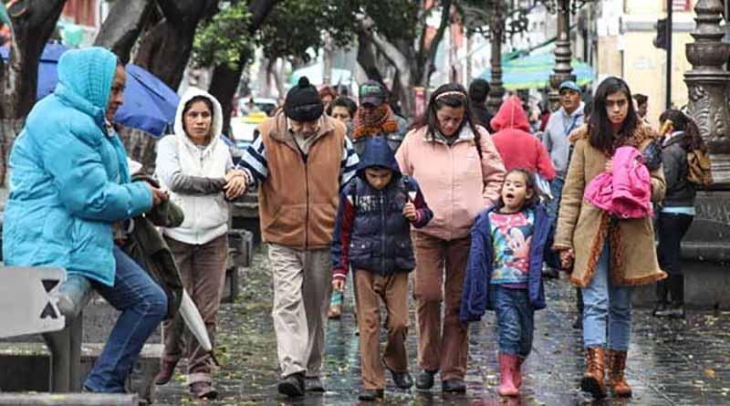 Frentes fríos provocarán marcado descenso de temperaturas en el país