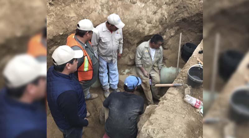 Agua Potable de Los Cabos repara fuga en acueductos 1 y 2