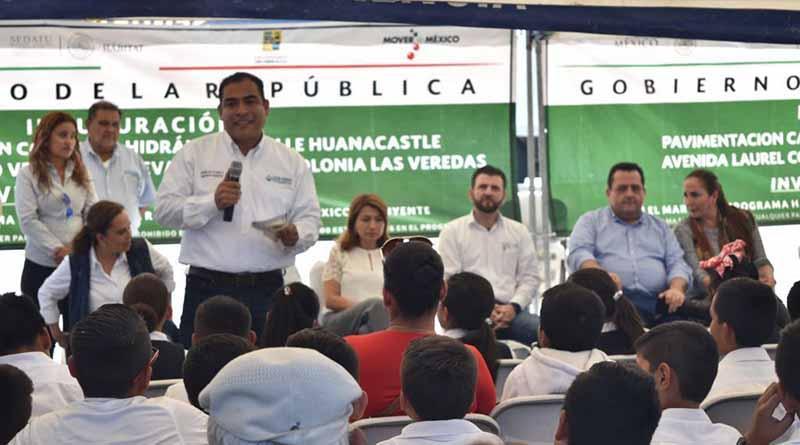 Entregó el Gobierno Municipal Obras de Pavimentación en Las Veredas