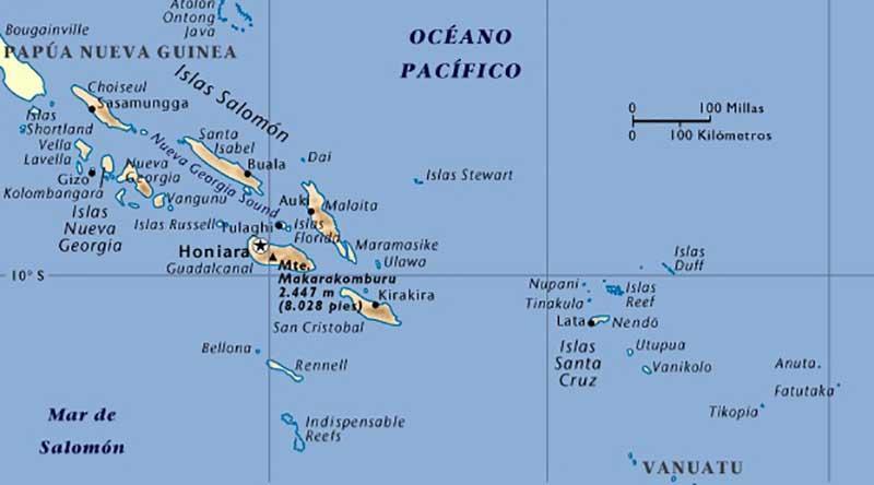 Alerta de tsunami tras terremoto de 8.0 grados en Islas Salomón