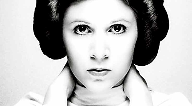 Fallece actriz Carrie Fisher, la legendaria princesa Leia