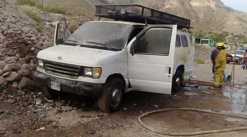 Se incendia panel en Santa Rosalía y muere bebé de 11 meses