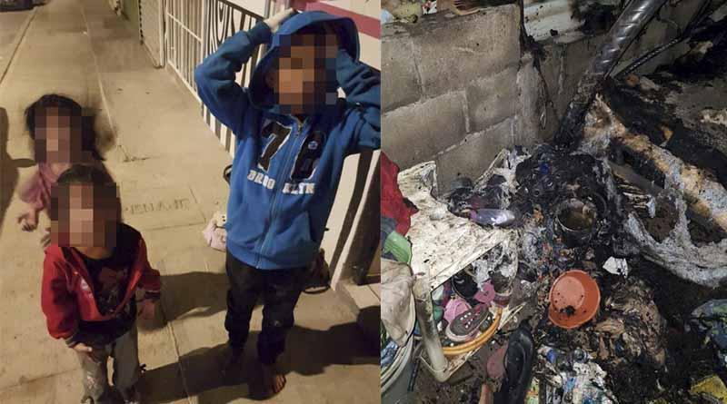 Niño de 9 años salva a sus hermanitas de morir calcinadas en incendio de Cabo San Lucas