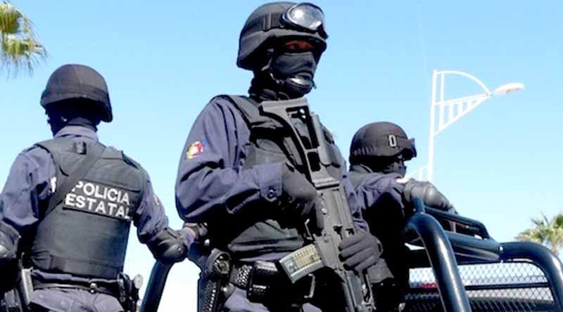 Detienen estatales a sospechoso en Costa Dorada de SJC con pistola calibre .44 y droga